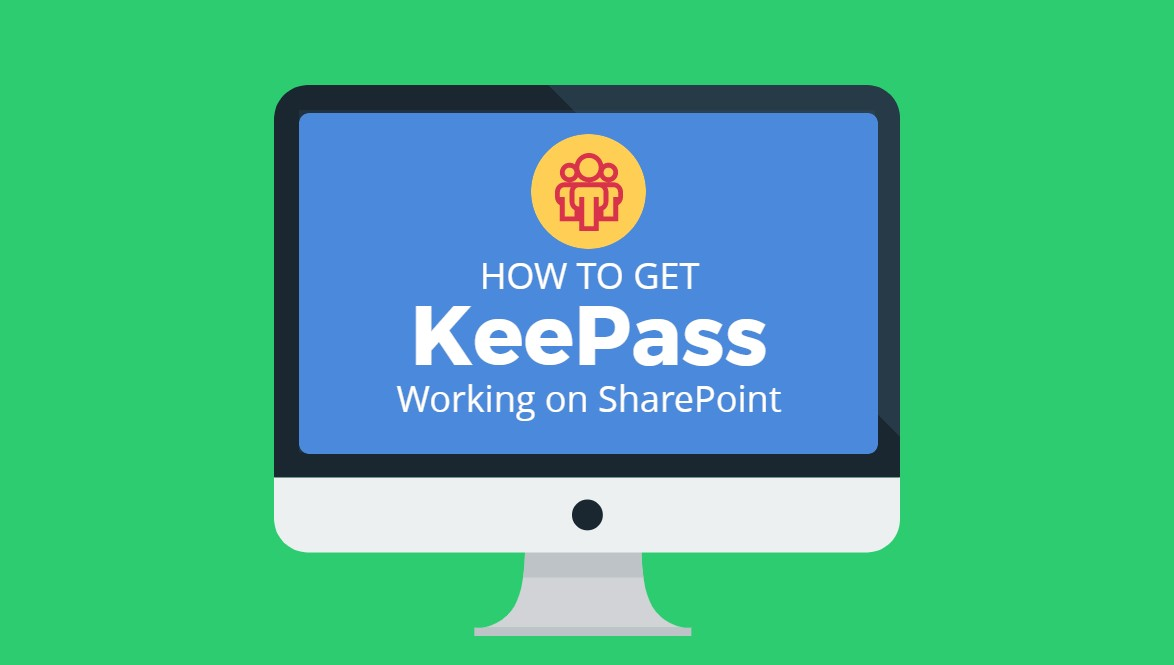 How to Get KeePass working on sharepoint