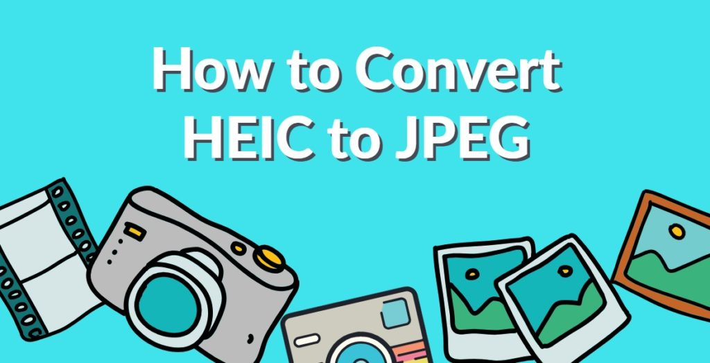 How to Convert heic to jpg on iphone Free