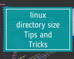 linux directory size